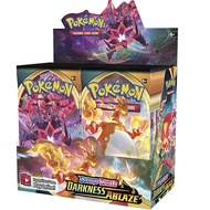 324Pcs Pokémon TCG Sword Shield Darkness Ablaze Booster Box Playing Game Pokemon Card Collection Trading Kids Children Toys Gift