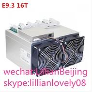 EBIT E9.3 Miner 16TH/S BTC Bitcoin Mining เครื่อง 10nm ASIC Miner E9.3 16T PSU