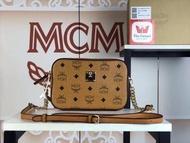 #งานออริMCM กระเป๋าผู้หญิงสะพายข้างหนังแท้ขนาด8นิ้วMCM Crossbody size8