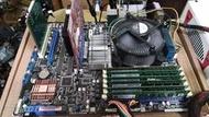 華碩 P6T PRO/BA5190/BP 主機板1366/良品/附擋板