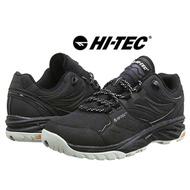 HI-TEC 英國戶外NO.1-城市戶外休閒鞋 登山鞋 防潑水抗油性--黑色款 (全新品)黑色US9(26cm)