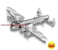 Fascinations Metal Earth Avro Lancaster Bomber Aircraft Model To Build