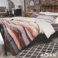 織眠家族|【可超取】北歐風防靜電法蘭絨床包被套組-維京神話