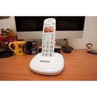 《福利品》三洋 SANYO DCT-9971 DECT 數位 中文無線電話【 可接耳麥 話筒增音】