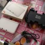 全套有盒 白色日版3DSLL 連2GAMES及配件