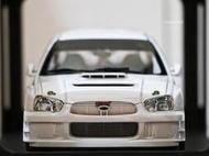 【AUTOart】1/18 SUBARU New Age Impreza WRC 2003 (White) #80392
