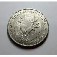DUIT LAMA $1 RINGGIT TUNKU 25 TAHUN MERDEKA