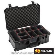 【PELICAN】1535TP Air 輪座拉桿氣密箱-含TrekPak隔板(黑)