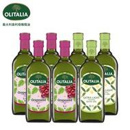 奧利塔葡萄籽油1Lx4+奧利塔精緻橄欖油1Lx3