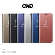 QinD HUAWEI nova 4e/P30 Lite 透視皮套