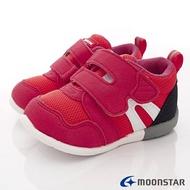 ★日本月星Moonstar機能童鞋HI系列3E寬楦頂級學步鞋款1113紅(寶寶段)SUPER SALE樂天購物節