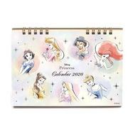 大賀屋 日本製 公主系列 2020 桌曆 萬年曆 年曆 月曆 日曆 行事曆 記事 迪士尼 正版 L00011513