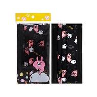 卡娜赫拉的小動物 拋棄式防塵口罩-成人黑(5片裝)【小三美日】◢D790547