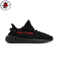 Adidas Yeezy350 black/red Bred ของแท้100%