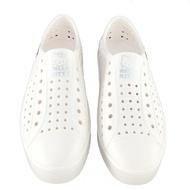 小禮堂 Hello Kitty 休閒洞洞鞋 休閒涼鞋 沙灘鞋 防水鞋 (白 LOGO)
