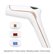 Qmele 3 in1 IPL Laser Hair Removal Machine Full Body Bikini Trimmer woman Electric 500000 Pulse LCD Permanent Epilator