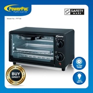 PowerPac 8L Electric Oven Toaster with 3 types Heating Selector (PPT08)