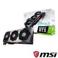 MSI 微星 GeForce RTX 3070 Ti GAMING X TRIO 8G 顯示卡