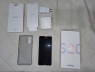9.9成新 SAMSUNG 三星 Galaxy S20 FE 5G 浪漫紫 附贈原廠無線充電盤