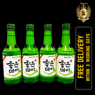 Good Day Original Soju ( 4 x 360ml)**Free Delivery within 3 working days**