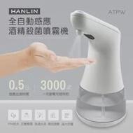 (現貨30組)【HANLIN-ATPW】小家電-全自動感應酒精殺菌淨手噴霧機(MIT)