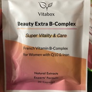 Vitabox 女性維他命b群+Q10+專利鐵