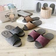 【iSlippers】風格系列-麂皮紋皮質室內拖鞋(10雙組)