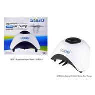 SOBO Silent SB-860A/SB-830A Aquarium Air Pump 2 X 6L/Min Fish Tank Akuarium Pam Udara Oksigen