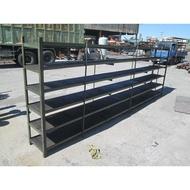 [龍宗清] 6層角鐵架(重型架) (16062701-0008) 重型鐵架 模具架 物料架 多層架  6層鐵架 6層角鋼