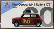 ☆勳寶玩具舖【現貨】TINY 城市 20 迷你谷巴 Mini Cooper Mk1 越野賽車#177 (台灣) (左駕)