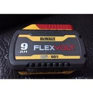 全新得偉原裝電池、得偉電動工具、dewalt 電池、得偉60v、得偉20v電池、dewalt 60v電池、5A、4A薄款