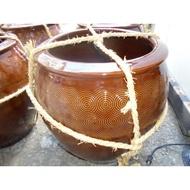 《鶯歌陶瓷工廠直營》A級3斗水缸、醃缸、傳統水缸無蓋、大水缸、大陶缸、陶缸、古早米甕、釀醬油