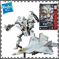 18cm Transformers Toys Studio Series 06 Voyager Class Movie 1 Starscream Converts Jet In 26 Steps Action Figure Collection Model