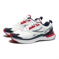 【領券滿$2000最高折$250】FILA 慢跑鞋 CURVELET 白深藍 紅 反光 BTS 情侶款 休閒鞋 男女 (布魯克林) 4J534U147