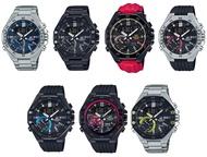 Casio Edifice นาฬิกาข้อมือผู้ชาย สายสแตนเลส รุ่น ECB-10 (ECB-10D-2AECB-10DC-1AECB-10HR-1AECB-10P-1AECB-10PB-1AECB-10TMS-1AECB-10DB-1A)