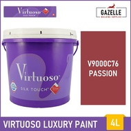 Boysen Virtuoso Odorless and Anti-Bacterial Paint with Teflon Passion - 4L