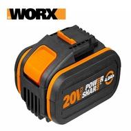 【WORX 威克士】20V鋰電池4.0Ah-橘(WA3553)