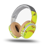 (Mighty Skins) Skin for Skullcandy Crusher Wireless Headphones - Softball Collection| MightySkins...