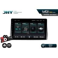 【JD汽車音響】JHY M3 PRO版 TOYOTA WISH 2010~ 10吋安卓專用主機。獨家雙聲控/小葳助手