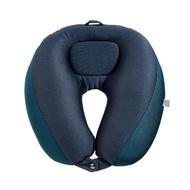 【Go Travel】雙層可調式頸枕-藍色