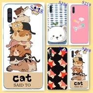 【Case】Samsung A50 Silicone Cartoon cute Soft Case Samsung A50 Phone Cover Samsung Galaxy A50 TPU painted Phone case