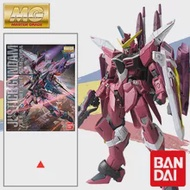 Bandai Gundam Seed Mg 1/100 Justice Gundam Pvc Collection Assembly Action Anime Figure