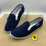 รองเท้าผ้าLEOS TAR รองเท้าคัชชูผ้านิ่ม รองเท้าคัชชูผ้ายืด รองเท้าคัชชูแม่บ้าน รองเท้าผ้าใบสีดำคนทำงาน รองเท้าคนสูงวั