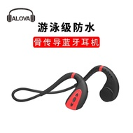 現貨實拍優選熱銷-骨傳導藍牙耳機IPX8游泳頭戴式運動防水耳機無線立體聲耳機8GMP3