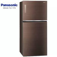 【感恩有禮賞】Panasonic 國際 NR-B659TG-T 冰箱 翡翠棕 650L ECONAVI 智慧節能 無邊框玻璃系列  新1級能源效率 1℃魚肉保鮮盒