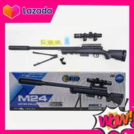 ปืนของเล่น ปืนสไนเปอร์ ปืน PUBG รุ่น M24 / AWM ปืนกระสุนเจล เหมาะกับเด็กอายุ 14 ปีขึ้นไป