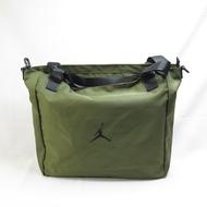 JORDAN 側肩包 單肩包 手提包 大容量 全新正品 JD2043022GS002 卡拉綠【iSport愛運動】