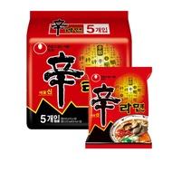 現貨【NONG SHIM】農心 辛拉麵超值包5入(600g)  經典口味(有效日期2021/01/21)