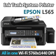 EPSON L565 Ink Tank System Printer All in one Wi-Fi 5760x1440 DPI  / free shipping