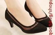ZARA genuine 2014 new shallow mouth gauze thin hollow head with a single toe shoes high heels shoes
